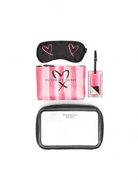 Дорожний набор VS Signature Stripe от Victoria's Secret