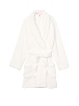 Фото Плюшевый халат Cozy Plush от Victoria's Secret - Ivory