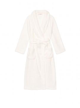 Фото Длинный плюшевый халат Cozy Plush от Victoria's Secret - Ivory