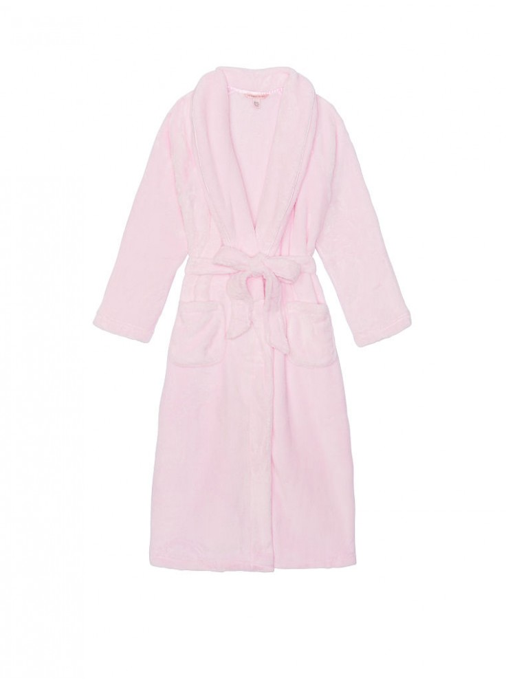 222594d4e9913 Купить Длинный плюшевый халат Cozy Plush от Victoria's Secret - Pink ...