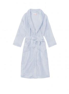 Фото Длинный плюшевый халат Cozy Plush от Victoria's Secret - Flint Grey