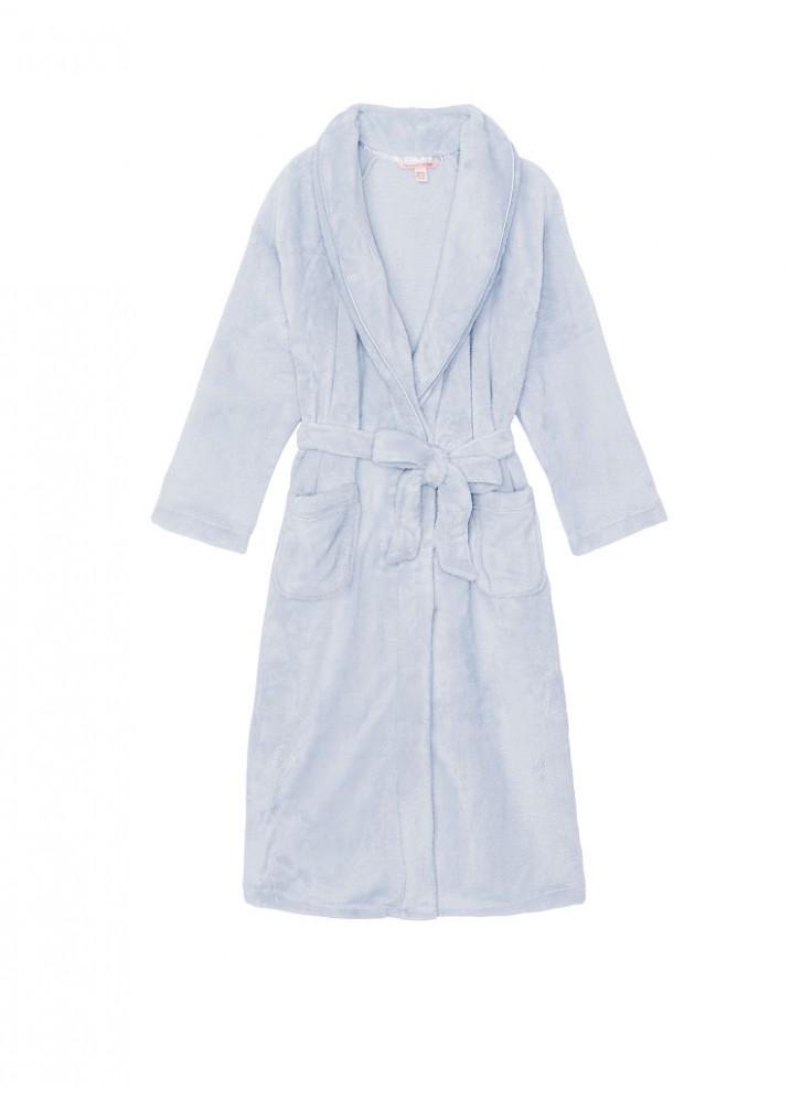 f011172f13e89 Длинный плюшевый халат Cozy Plush от Victoria's Secret - Flint Grey