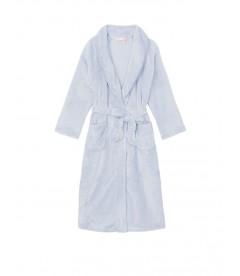 Длинный плюшевый халат Cozy Plush от Victoria's Secret - Flint Grey