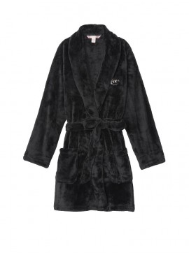 Фото Плюшевый халат Cozy Plush от Victoria's Secret - Black