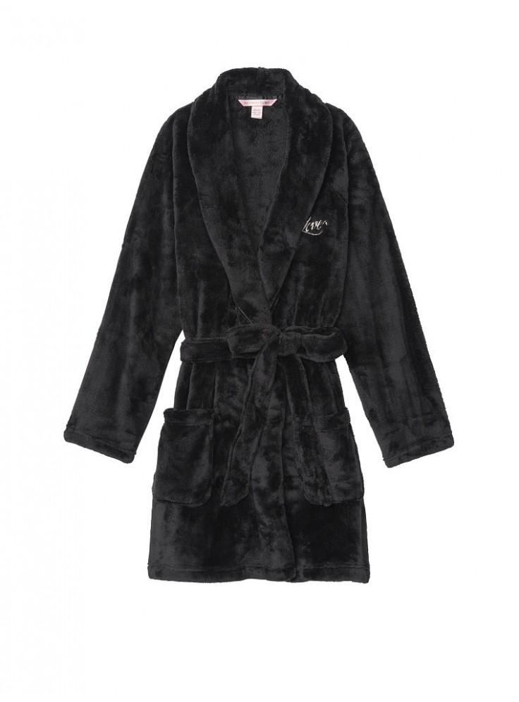 120a89d146f2c Купить Плюшевый халат Cozy Plush от Victoria's Secret - Black 09173 ...