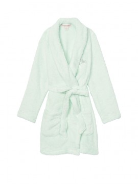 Фото Плюшевый халат Cozy Plush от Victoria's Secret - Flint Grey