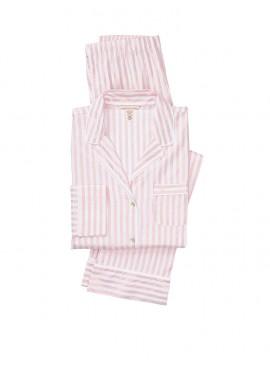 Фото Фланелевая пижама Victoria's Secret из коллекции The Lightweight - Pink Lurex Stripe