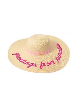 Фото Соломенная шляпа Victoria's Secret
