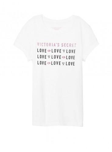 Футболка от Victoria's Secret - White Love Graphic