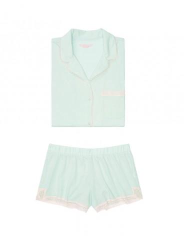 Пижамка с шортиками Victoria's Secret из сериии The Sleepover - Beach Glass