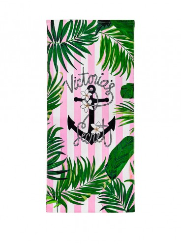 Пляжное полотенце от Victoria's Secret - Pink Stripe