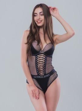 Фото Шикарный пеньюар Fishnet Bodysuit от Victoria's Secret