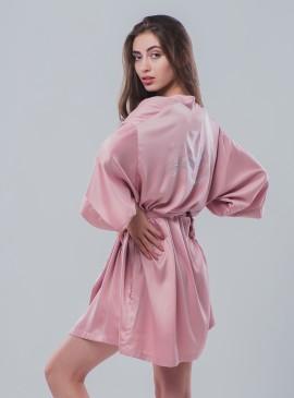 Фото Роскошный халат Very Sexy Short Satin Kimono от Victoria's Secret