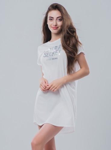 Ночная рубашка от Victoria's Secret - VS White