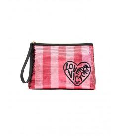 Стильный клатч Sequin от Victoria's Secret - Pink