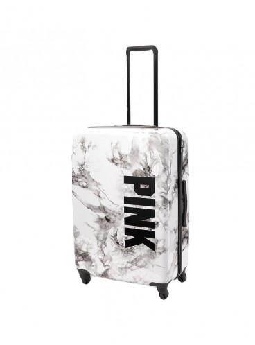 Чемодан для путешествий Victoria's Secret PINK - Marble