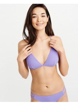 Рифленный купальник Abercrombie & Fitch - Purple