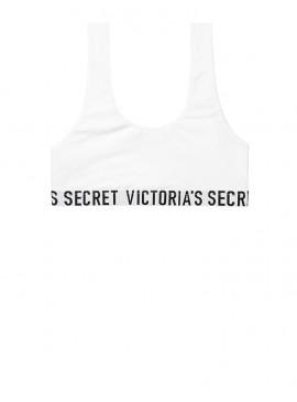 Фото Хлопковый топ Logo Scoop от Victoria's Secret - White