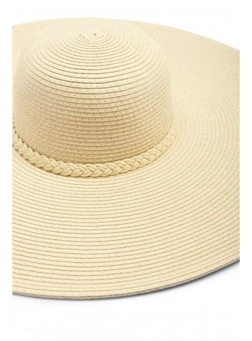 Соломенная шляпа Forever 21 - TAUPE