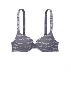 Фото Бюстгальтер с Push-Up из серии THE T-SHIRT от Victoria's Secret - Dark Grey