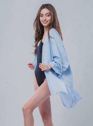Льняная пляжная рубашка be Angel Blue