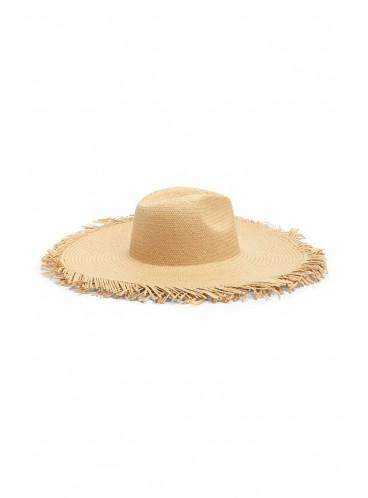 Соломенная шляпа Floppy Straw Forever 21 - NATURAL