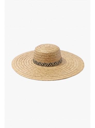 Соломенная шляпа Forever 21 - TAN BLACK