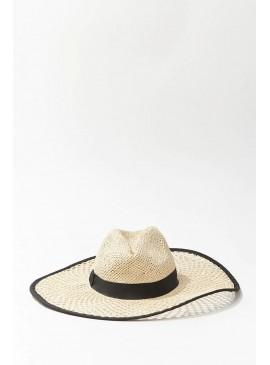 Фото Соломенная шляпа Forever 21 - NATURAL BLACK