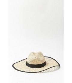 Соломенная шляпа Forever 21 - NATURAL BLACK