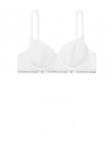Бюстгальтер Cotton Unlined Demi из серии The T-Shirt от Victoria's Secret - White