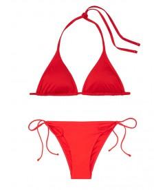NEW! Стильный купальник Triangle от Victoria's Secret - Salsa Red