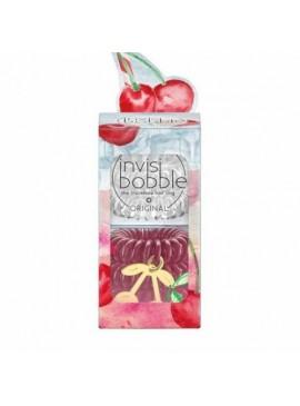 Фото Набор резинок-браслета для волос invisibobble ORIGINAL - Happy Hour Cherry Cherie Lady