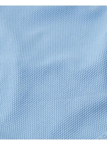 Рифленный купальник Abercrombie & Fitch - Light Blue