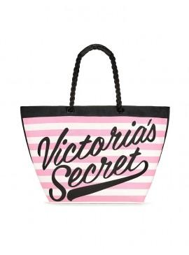Фото Стильная пляжная сумка Victoria's Secret - Pink Strip