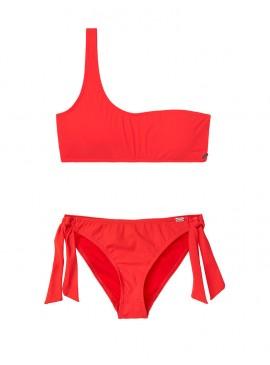 Фото NEW! Стильный купальник Sporty One-shoulder от Banana Moon - Red