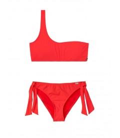 Стильный купальник Sporty One-shoulder от Banana Moon - Red