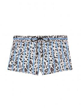 Фото Пижамные шорты от Victoria's Secret - Blue Striped Heart Leo