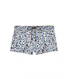 Пижамные шорты от Victoria's Secret - Blue Striped Heart Leo