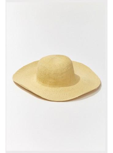 Соломенная шляпа Forever 21 - YELLOW