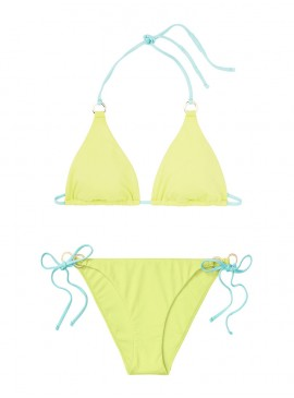 Фото NEW! Стильный купальник Triangle от Victoria's Secret - Soft Lime