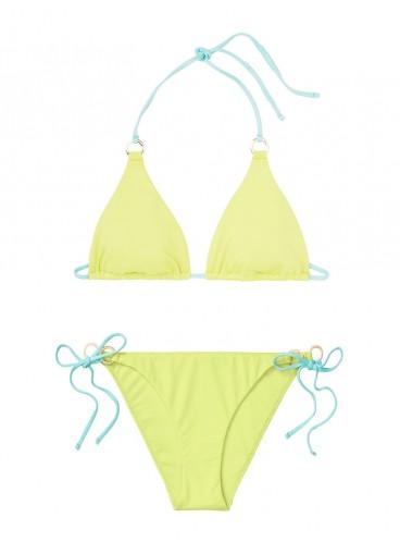 NEW! Стильный купальник Triangle от Victoria's Secret - Soft Lime