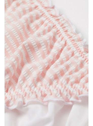 Стильный купальник с Push-Up от H&M - Pink White Striped