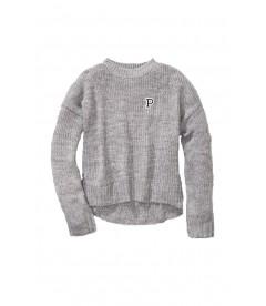 Стильный теплый свитер из коллекции Victoria's Secret PINK - Heather River Stone