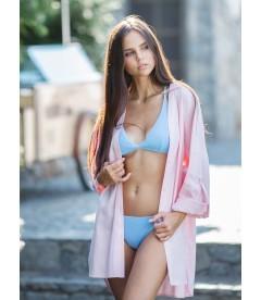 Льняная пляжная рубашка be Angel Pink