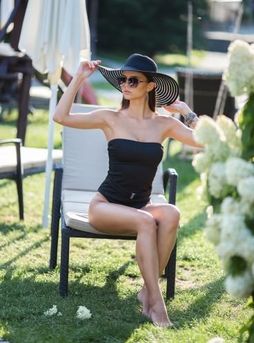 Пляжная шляпа Forever 21 - BLACK