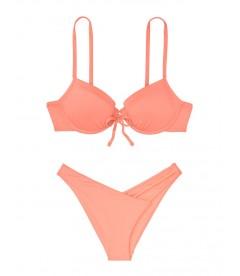 NEW! Стильный купальник Booster от Victoria's Secret - Coral Shell