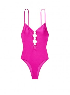 More about NEW! Стильный монокини Zip V-plunge One-piece от Victoria's Secret - Wild Orchard