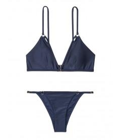 NEW! Стильный купальник Strappy Ring Bralette от Victoria's Secret - Indigo