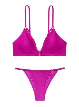 Фото NEW! Стильный купальник Strappy Ring Bralette от Victoria's Secret - Wild Orchard