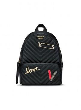 Фото Стильный мини-рюкзачок Victoria's Secret - Pure Black
